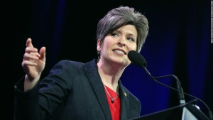 Joni Ernst just said the quiet part out loud about the Senate impeachment trial