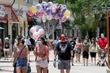 Workers urge Disney to delay July reopening of Florida theme parks