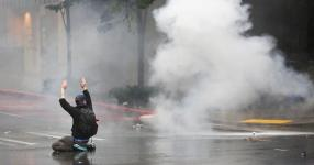 Maker of tear gas used on protesters gets millions from U.S.