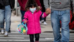 A recent spike in cases raised the total to at least 513,415, according to the American Academy of Pediatrics and the Children's Hospital Association