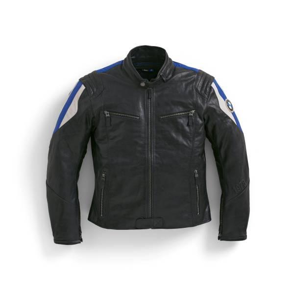 BMW Motorrad Jacket Club Leather Men, Part number 76 12 9 899 222 to 76 12 9 899 227 (12/2020)