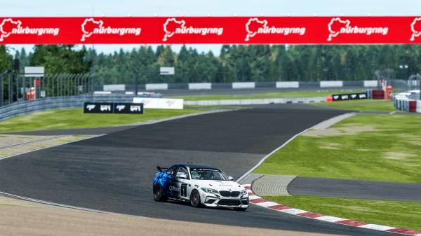 Munich (GER), 5th December 2020. BMW SIM Live, event, show, BMW SIM M2 CS Racing Cup, BMW M2 CS Racing, Grand Final, rFactor 2, Nürburgring, Nikodem Wisniewski.
