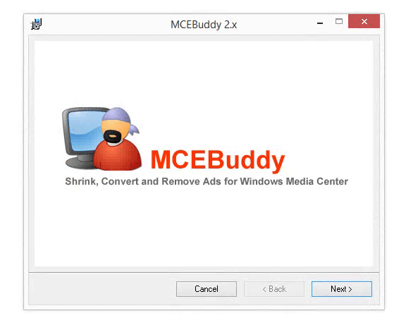 Convert and remove commercials from video with MCEBuddy