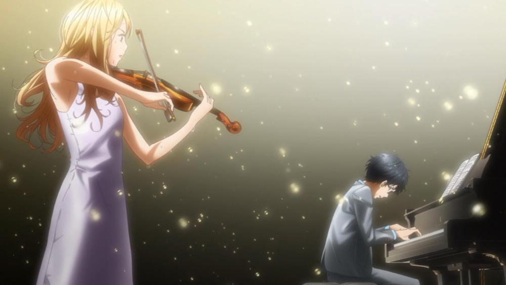 Shigatsu wa Kimi no Uso (Your Lie in April): Una emocionante melodía con notas desafinadas (3/4)