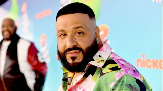 DJ Khaled at the Kids choice awards 2019