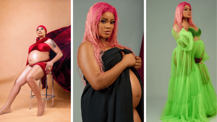 Nollywood Actress Uche Ogbodo has put bed