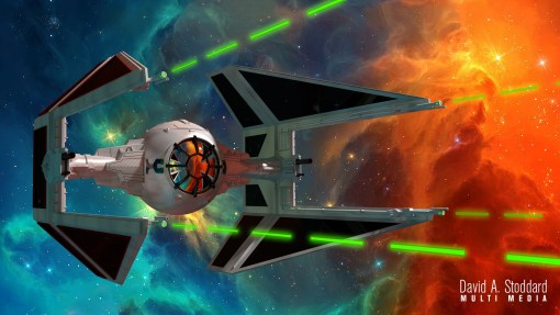 Star Wars Interceptor – 3D Design