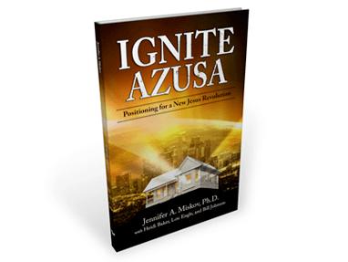 Ignite Azusa – Book Cover Design