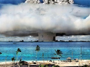 Cold War hydrogen bomb test