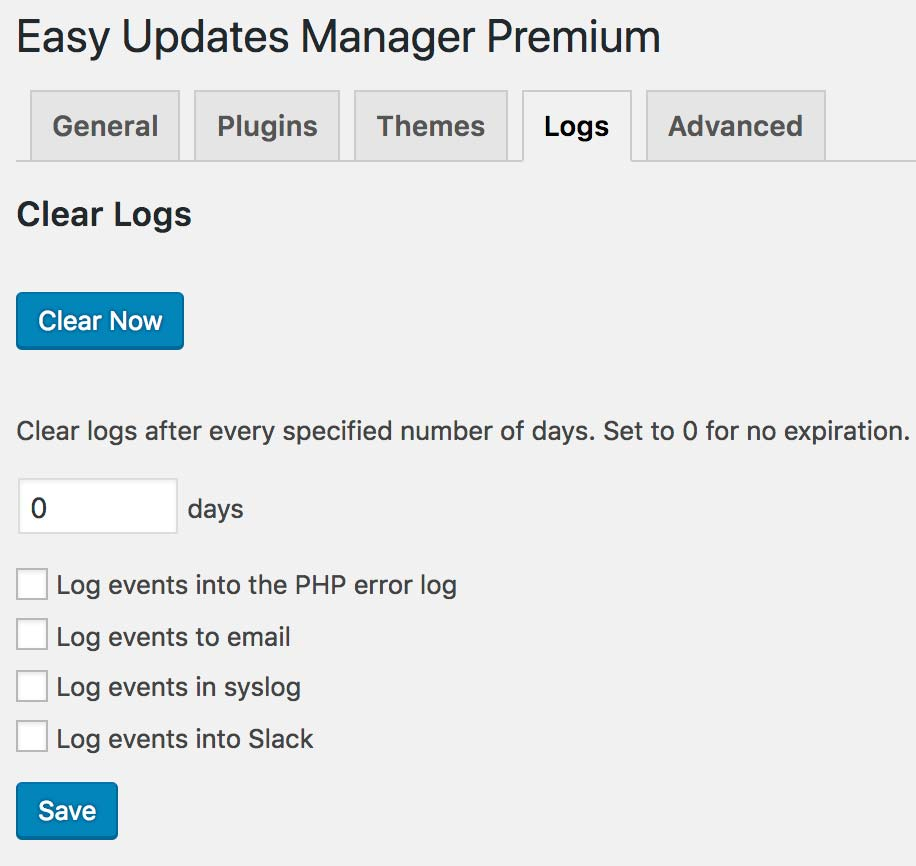 EUM Logs Features