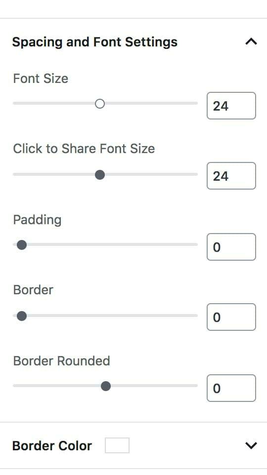 Font Controls