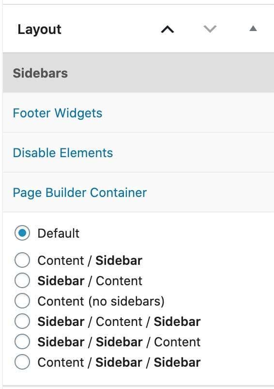 Sidebars in GeneratePress