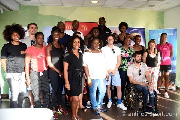 Martinique Summer Games 2019_les sportifs