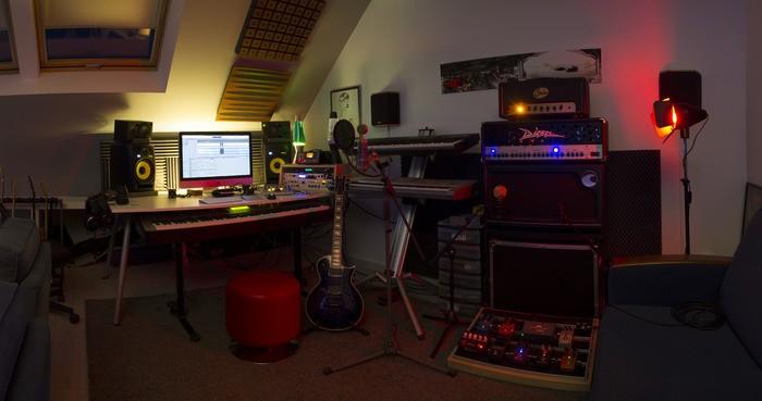 meuble pour home studio
