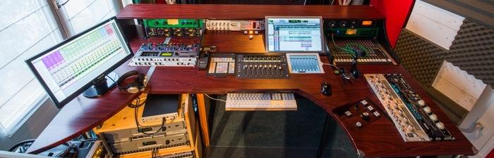 Brade Mobilier Studio Bureau Type PRODUCER DESK 28U De