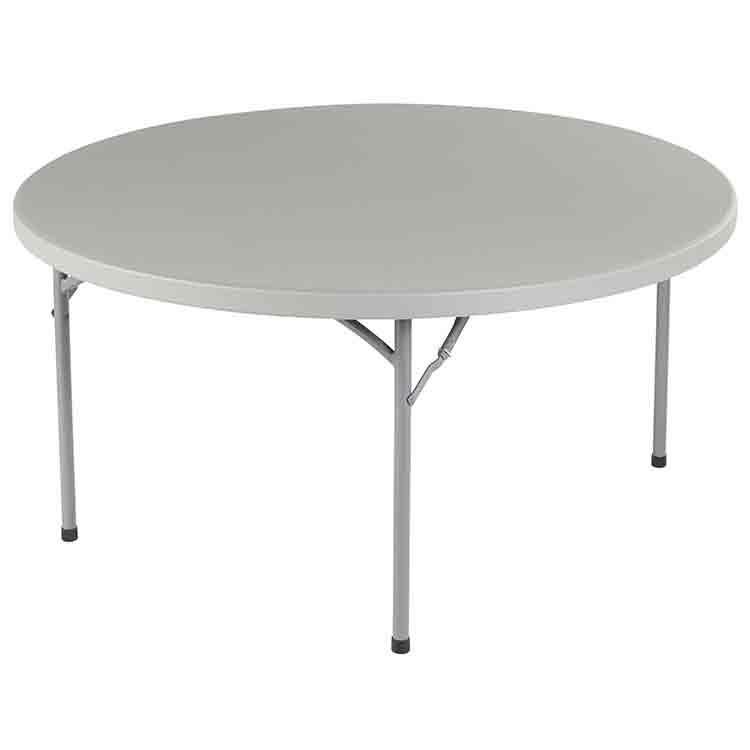 table ronde pliante duralight 122 cm