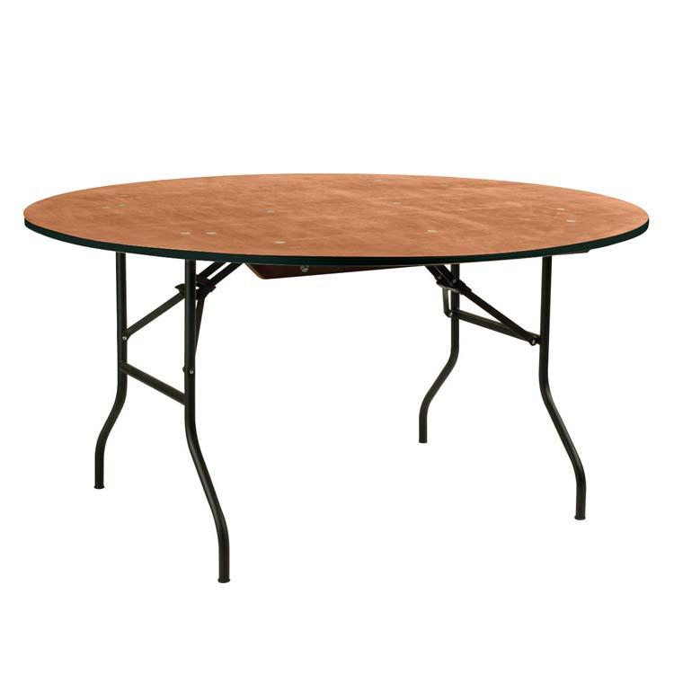 table banquet ronde