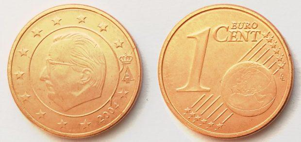 1 Cent Belgique 2001