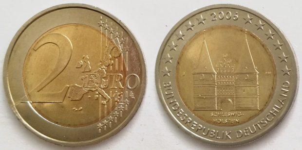 2 Euro Allemagne 2006J Commémorative