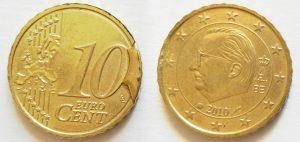 10 Cent Belgique 2010