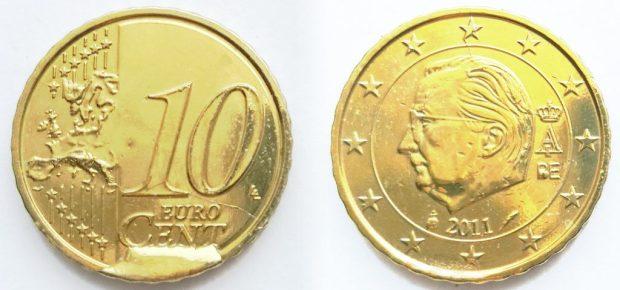 10 Cent Belgique 2011