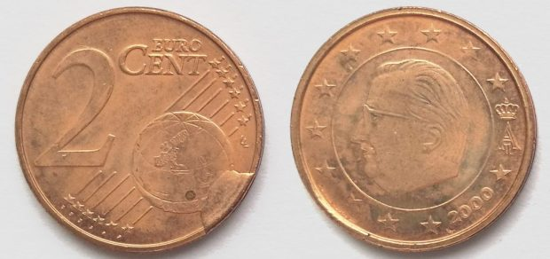 2 Cent Belgique 2000