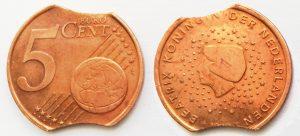 5 Cent Pays-Bas 1999 - Clipée (EM221)