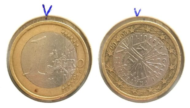 1 Euro France 2000