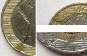 Coins affaissé