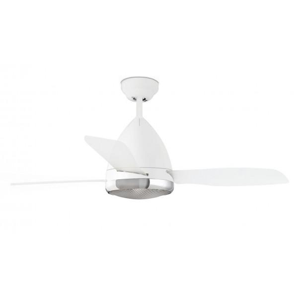 plafonnier ventilateur design avec lumiere