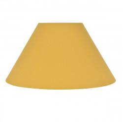 abat jour conique jaune moutarde
