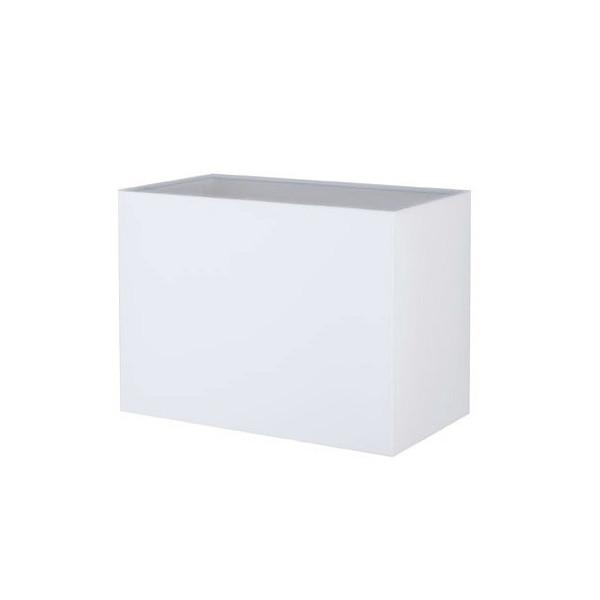 abat jour rectangle blanc
