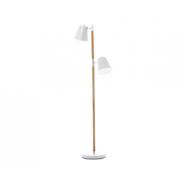 lampadaire blanc box32 design