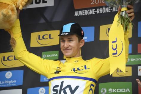 Cyclisme sur route - Cyclisme sur route - Michal Kwiatkowski est le premier leader du Dauphiné. (B.Papon/L'Equipe)