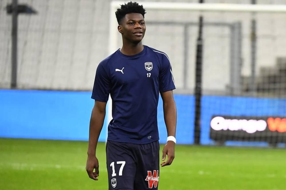The italians' interest in the young midfielder. Foot - Ligue 1 - Bordeaux - Bordeaux : Aurélien Tchouaméni ...