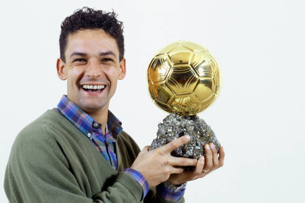 Palmarès Ballon d'Or - 1993 - Roberto Baggio - France Football