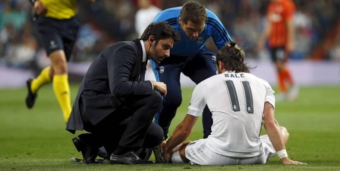 Bale avait dû quitter la pelouse après trente-et-une minutes de jeu. (Reuters)
