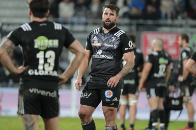 Rugby - Pro D2 - Benjamin Peter scored the first Brive test. (Roman / Sports Press)