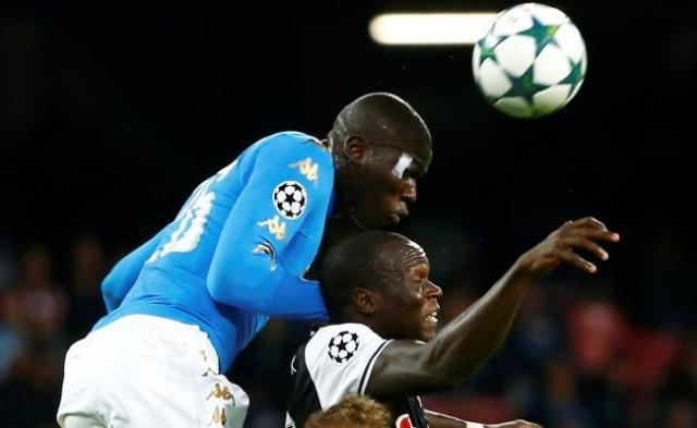 Koulibaly lors du match de C1 contre Besiktas, en octobre. (Reuters)