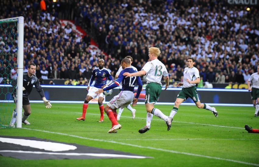 Fallo di mano Thierry Henry vs. Irlanda