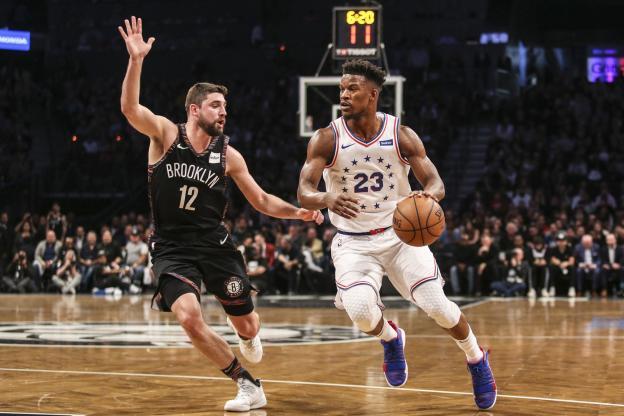 Basket - NBA - Jimmy Butler et les Philadelphia Sixers ont récupéré l'avantage du terrain à Brooklyn. (Reuters)