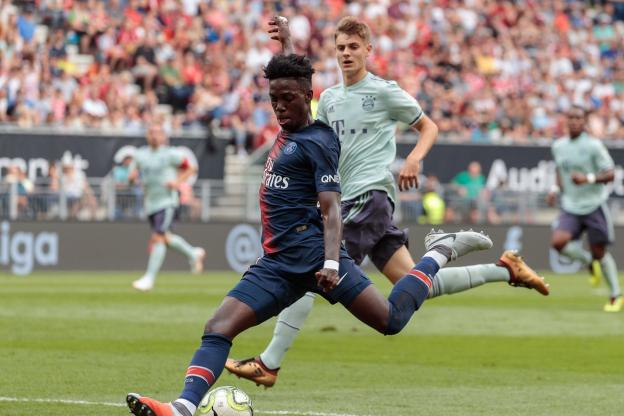 Football - Ligue 1 - Last summer, PSG faced Bayern in the frame of the ICC. () Sports Press