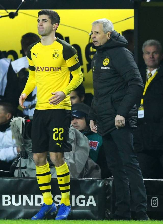 Lucien Favre does not rely much on Christian Pulisic in Borussia. (Sports Press)