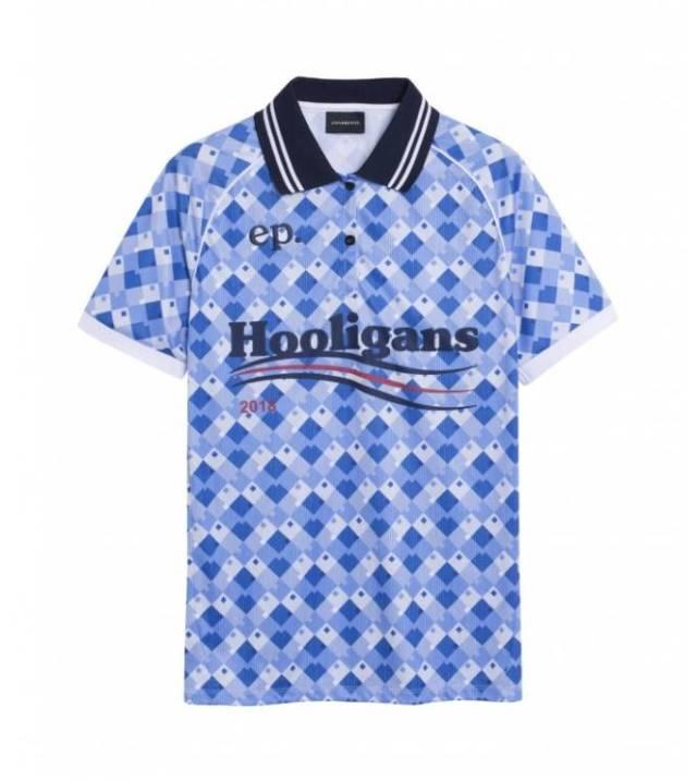 Maillot inspiré du third de l'Angleterre lors de la Coupe du monde 1990. (D.R.)