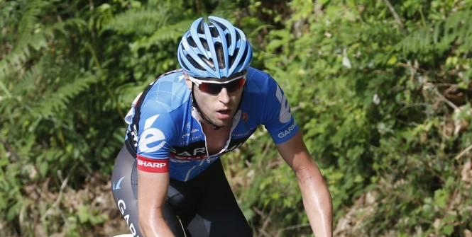 Ryder Hesjedal na terceira etapa.  (Yuzuru Sunada / Presse Sports)