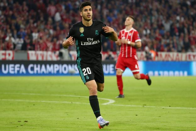 Football - Ligue des Champions - Asensio a marqué le but de la victoire. (Reuters)