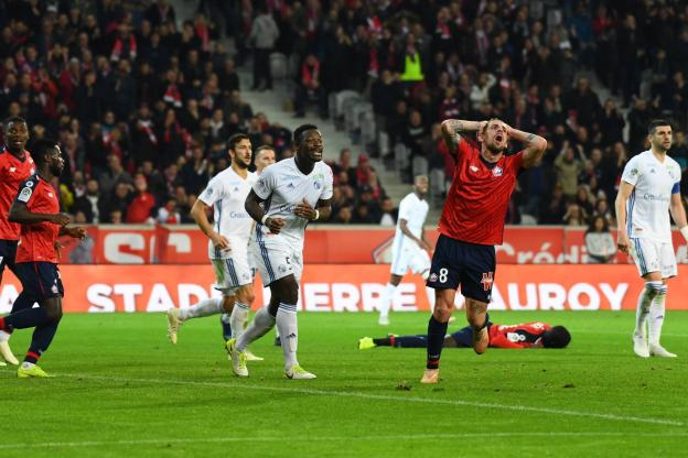 Football - Football - Xeka and Lille have been clumsy in front of their audience. (J.Prevost / The Team)