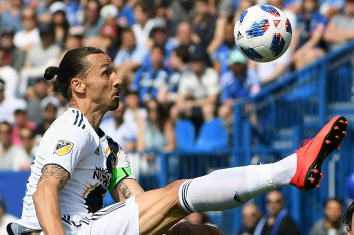 Zlatan Ibrahimovic intends to fly over the MLS season. (Sports Press)