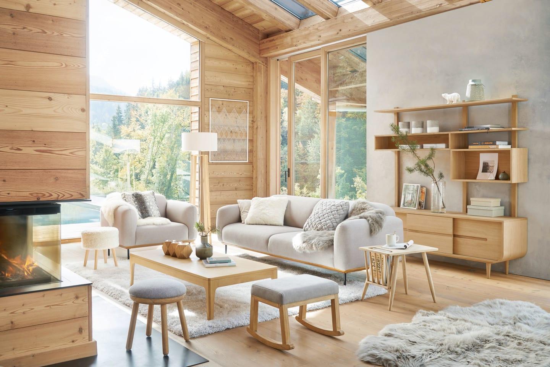Se devono essere abbinate al tavolo, mimetizzate con l´arredamento o usate come elementi di design. Arredare Il Soggiorno In Stile Moderno Idee E Consigli Maisons Du Monde