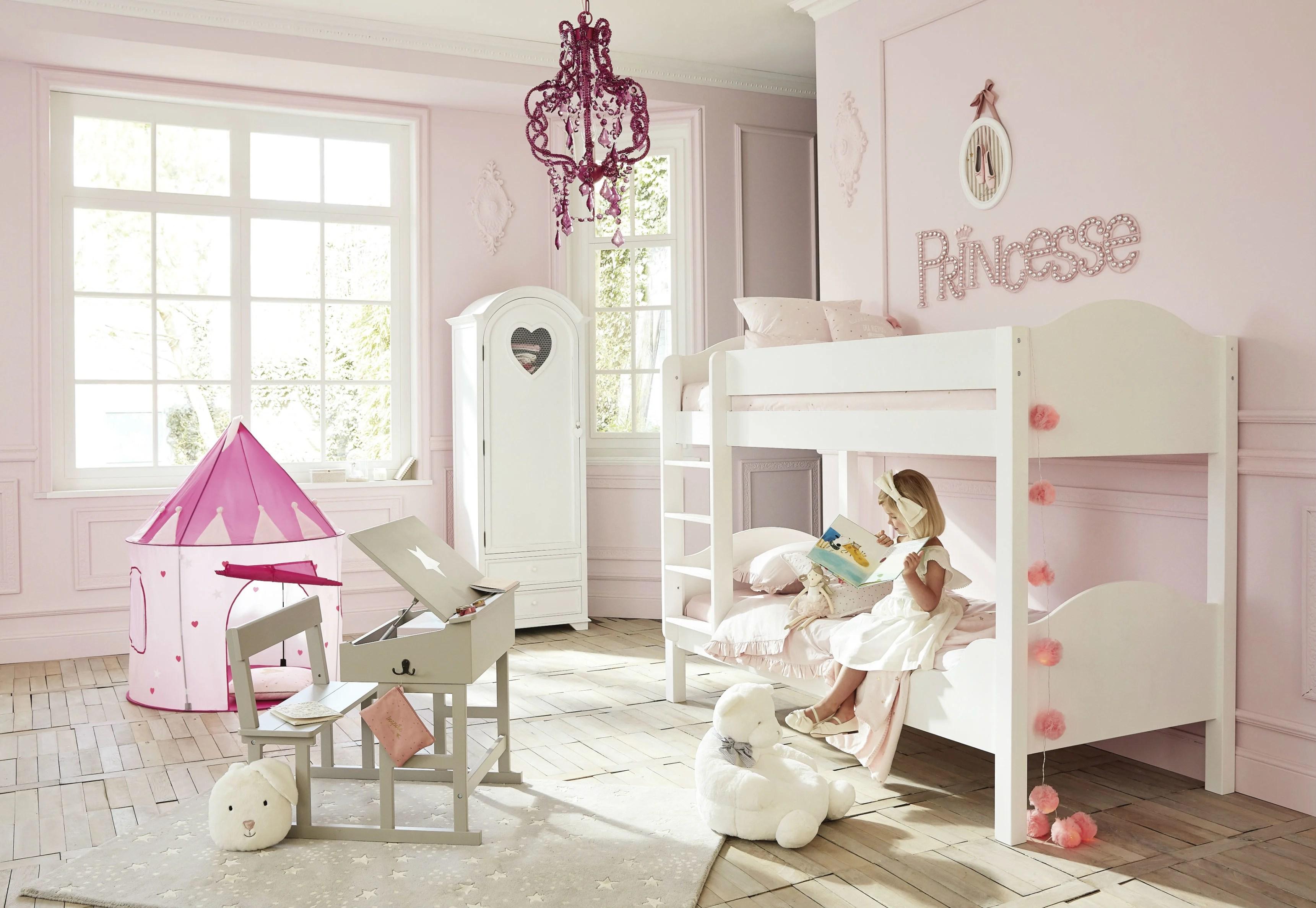 Farfalle da personalizzare nel colore. Cameretta Da Bambina Idee Per Una Stanza Da Principessa Maisons Du Monde